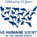 The Humane Societ of the US Logo - 60 yrs